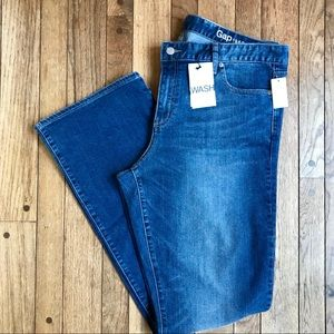 NWT Gap Perfect Boot Jeans 34 Long